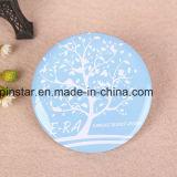Kundenspezifische preiswerte Großhandelstaste Badges ringsum unbelegtes Abzeichen