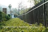 Haohan 까만 간단한 산업 주거 안전 정원에 의하여 직류 전기를 통하는 강철 담 34