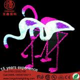 Luz de flamingo decorativo decorativo de Natal LED para iluminação exterior