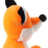 Gevulde Dieren van de Pluche van de Vos van de Zitting van de douane de Oranje Speelgoed