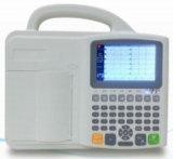 Equipamentos médicos 3 Channel Eletrocardiógrafo Máquina de ECG