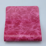 ソファーの家具製造販売業(F8002)のための光沢のある印刷された大理石模様をつける総合的なPUの革