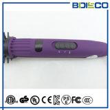 2 em 1 PTC que aquece o Straightener iónico do cabelo da escova