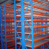 Полки для хранения на складе с помощью
