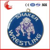 Prezzo basso di promozione di Zhongshan delle medaglie di sport di gioco del calcio di colore completo