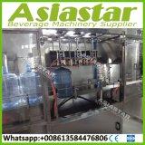 1200bph terminan la máquina de rellenar del agua del barril de 5 galones