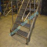 Diversas aplicaciones de las series Grating de acero ocho de la pisada de escalera