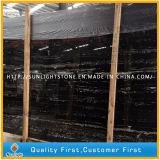 China-schwarze silberne Drache-Marmor-Platten für Bodenbelag-Fliesen und Worktops