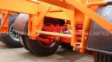 단 하나 타이어 40 피트 3axles 해골 포좌 세미트레일러