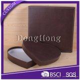 Rectángulo de papel de empaquetado modificado para requisitos particulares de la dimensión de una variable del corazón del regalo de lujo del chocolate