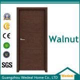 Твердая деревянная нутряная дверь панели сосенки/грецкого ореха/дуба