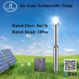 насосная система погружающийся 7.5kw 4inch солнечная, насос AC полива