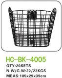 Vente en gros en plastique LC-B019 d'usine de panier de vélo/de panier d'avant bicyclette d'enfants