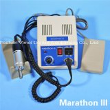 Maratón dental 35k rectángulo Mikromotor N10 Handpiece de la revolución por minuto + de control