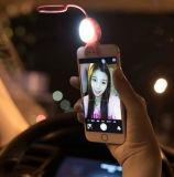 Bluetooth 셔터 iPhone Smartphone를 위한 먼 LED Selfie 전화 빛