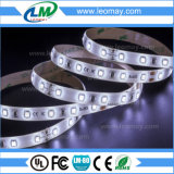 Indicatore luminoso di striscia eccellente di luminosità SMD3528 LED di larghezza di IP65 5mm