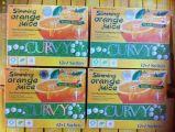 La saine alimentation minceur jus d'Orange