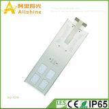 새로운 50W 1개의 LED 태양 가로등 공원 램프에서 보장 3 년 전부