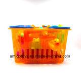 Brinquedos plásticos macios do vinil do banho do bebê de Novetly ajustados