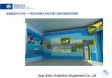Marco de instalación fácil del soporte del panel de visualización de pared para la exposición del salón de muestras