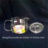 De transparante Goedkope Pot van de Thee van het Glas en Ketel Van uitstekende kwaliteit Vastgestelde 370g
