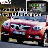 Interfaccia del sistema di percorso di GPS video per le insegne Buick Regal, Lacrosse, percorso di tocco di aggiornamento della zona franca (SISTEMA di INDICAZIONE), WiFi, schermo del getto, collegamento di Opel dello specchio