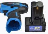 Taladro percutor inalámbrico con Li-ion populares herramientas Taladro eléctrico portátil
