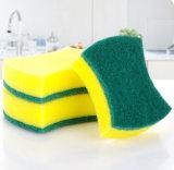 La cuisine bombe la garniture de nettoyage, éponge de nettoyage