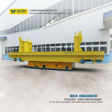 Industrie motorisierter Schienen-flacher Wagen-schwerer Maschinen-Transport