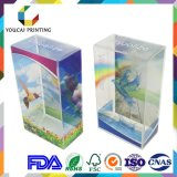 Contrat transparent en plastique d'approvisionnement d'usine de la Chine avec l'impression de couleur