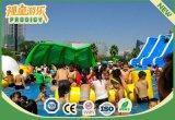 Parque inflable del agua del patio al aire libre con la piscina para los cabritos