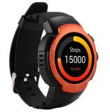 3G reloj elegante del androide 5.1 con el monitor del ritmo cardíaco