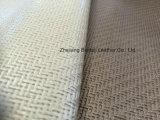 직물 패턴 PVC 소파 인공 가죽
