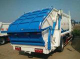4X2 최신 판매 8개 T 쓰레기 압축 분쇄기 쓰레기 트럭 트럭 8 톤 패물 수송