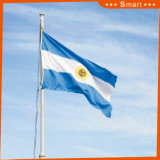 カスタムSunproofの国旗のアルゼンチンの国旗防水すれば
