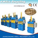 Pressa per balle idraulica di plastica residua di verticale/macchina pressa del documento/pressa-affastellatrice d'imballaggio del cartone
