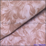 Couro colorido do plutônio Yangbuck para o Upholstery das sapatas
