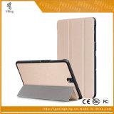 細い磁気折りたたみスマートなフリップ革はSamsungギャラクシータブS3 9.7 T820 T825のためのタブレットの箱を覆う