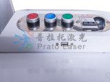 De volledig Automatische Industriële Laser die van Co2 van de Code Qr & Van de Streepjescode Machine merken