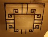 Iluminación decorativa interior europea hecha del mármol español, lámpara del techo
