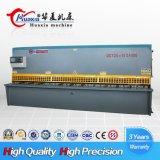 Máquina de estaca de corte 4*6000 da placa de metal da máquina do feixe hidráulico do balanço
