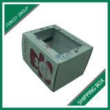 Caixa de papelão ondulado branco brilhante para envio e embalagem atacado
