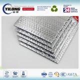 Matériau d'isolation thermique à double face en aluminium et à bulle