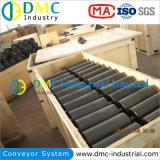 Rodillo del transportador de UHMWPE para el sistema de manipulación de materiales a granel