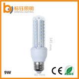 9W SMD2835 si dirigono bianco bianco/freddo dell'indicatore luminoso della lampada della lampadina E27 del cereale di illuminazione LED economizzatore d'energia (bianco caldo di colore/puro)