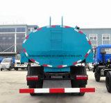 240 HP 트럭 15 톤 4X2 물 수송 유조 트럭 15000 리터 물