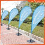 4.10メートルの屋外またはイベントの広告のためのカスタム羽のフラグ