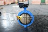 Válvula de borboleta D371X da bolacha do assento do disco NBR de Mono Flange Di Corpo C95800