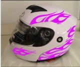 2017 нового двойного солнцезащитного козырька шлема мотора поворотных фар