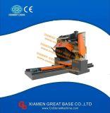 Máquina de piedra de hojas múltiples del corte por bloques del granito de la losa gruesa